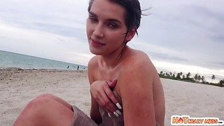 Natalie Porkman Nude At The Beach